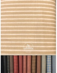 Tela Beige Dunroven - Country
