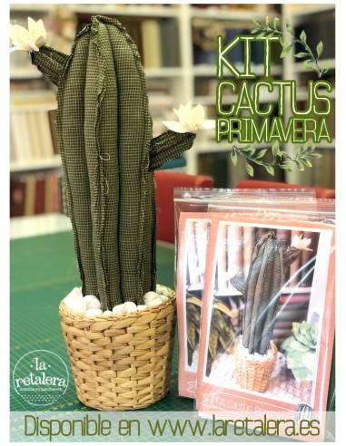 Kit ¨Cactus Primavera¨ - La Retalera