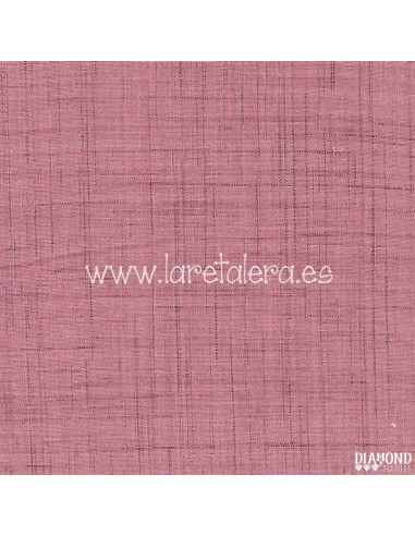 Tela Rosa Claro Tweed Thicket...