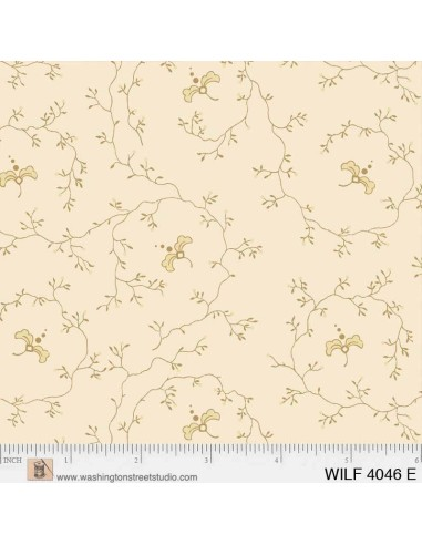 Tela Ramas Beige - Wildflower Woods