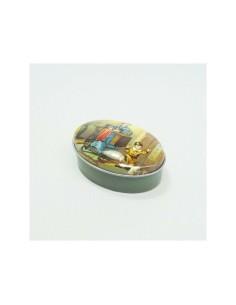 Caja metálica Vintage...