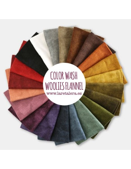 COLOR WASH - WOOLIES FLANNEL